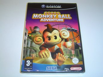 Super Monkey Ball Adventure Nintendo Gamecube *NYTT*
