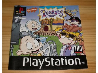 Manual PS: Rugrats Studio Tour