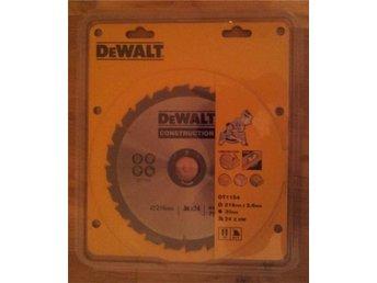 En ny 216 mm Dewalt sågklinga till kap- / gersåg 24 tänder - Luleå - En ny 216 mm Dewalt sågklinga till kap- / gersåg 24 tänder - Luleå