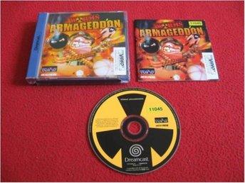 WORMS ARMAGEDDON till Sega Dreamcast - Blomstermåla - WORMS ARMAGEDDON till Sega Dreamcast - Blomstermåla