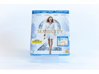 Sex And The City 2 - BluRay + DVD - NY! - Fri Frakt
