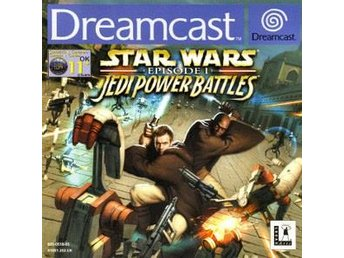 Star Wars: Episode 1 Jedi Power Battles - Dreamcast