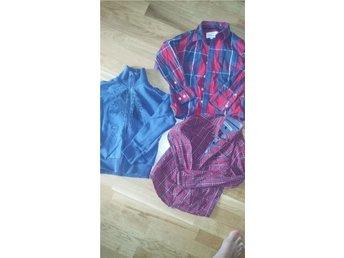 Klädpaket! Kofta från MEXX Stlk 110/116 2 snygga skjortor. Stlk 116 - Kode - Klädpaket! Kofta från MEXX Stlk 110/116 2 snygga skjortor. Stlk 116 - Kode