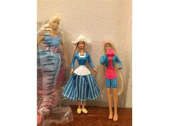 Mini Barbies, 3 st, varav en NRFB - Stockholm - Mini Barbies, 3 st, varav en NRFB - Stockholm