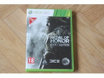 Medal Honor Tier 1 Edition Xbox 360 spel