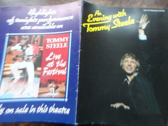 Souvenir Program Tommy Steele 1979
