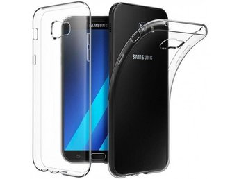 Samsung Galaxy A7 2017 silikon skal transparent Färg: Transparent