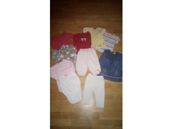 Paket med flickkläder i stl 74 - Knivsta - Paket med flickkläder i stl 74 - Knivsta