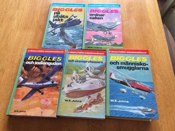 5 Biggles / W.E Johns