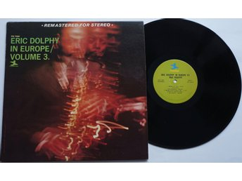 ** Eric Dolphy ‎– In Europe / Volume 3. **