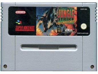 SNES  - Jungle Strike (Beg)