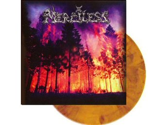 Merciless -S/t LP orange black marbled RSD 2018 ltd 300 copi