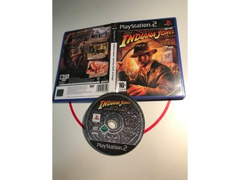 Indiana Jones And The Staff Of Kings Playstation 2 PS2