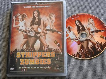 Strippers vs Zombies DVD Rysare