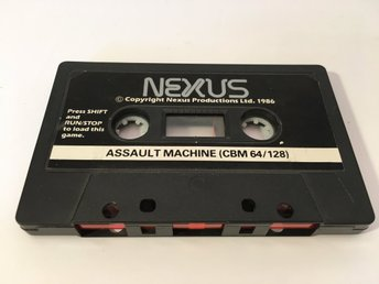 Assault Machine *TESTAD* - C64 / C128 - 1986 - Nexus Productions - BUD FRÅN 49:-