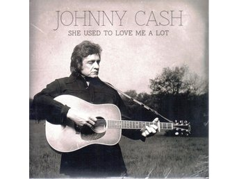 "7"" Johnny Cash – She Used to Love Me a Lot PS EU Elvis Costello"