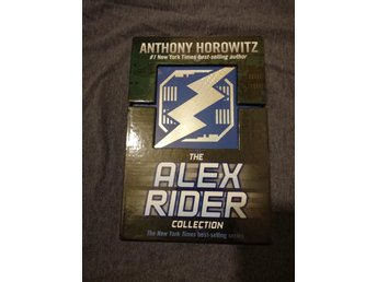 Alex Rider box - Anthony Horowitz - Stormbreaker - Point Blank - Skeleton Key