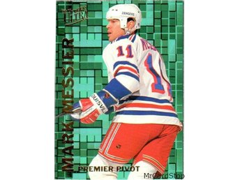 Ultra 1994-95 Premier Pivot 7 Mark Messier New York Rangers