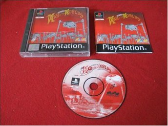 WAR OF THE WORLDS till Sony Playstation PSone - Blomstermåla - WAR OF THE WORLDS till Sony Playstation PSone - Blomstermåla