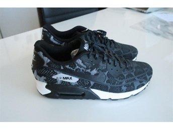 Nike Air Max 90 skor sneakers svarta leopard 38/39/5.5 foot locker design - Huddinge - Nike Air Max 90 skor sneakers svarta leopard 38/39/5.5 foot locker design - Huddinge