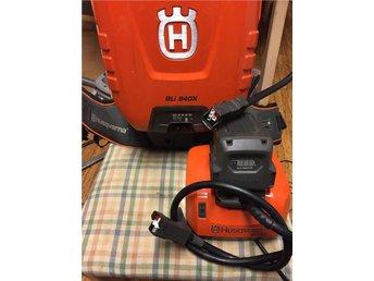 Husqvarna BLI 940X Ryggburet Batteripack med laddare & adapter... - Angered - Husqvarna BLI 940X Ryggburet Batteripack med laddare & adapter... - Angered