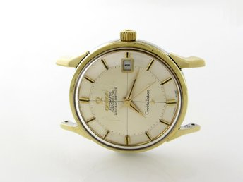 PANT:37977 Omega Constellation Pie-pan G/S cal 564 Utrop 1 kr!