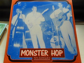 RECORD-SALE SOMMAR-REA! LP 50s ROCKERS MONSTER HOP