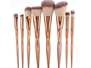 Helt oanvända sminkborstar sminkborste make up brush