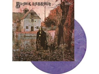 Black Sabbath -S/t LP purple marbled vinyl Doom masterpiece