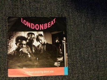 "Maxi Single LP Londonbeat  "" I've been thinking about you """