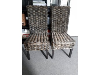 2 St stolar Rattan and Wicker från Rowico
