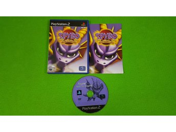 Spyro Enter The Dragonfly Playstation 2 ps2