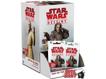 Star Wars Destiny Way of the Force Booster Pack Display (36 Boosters)