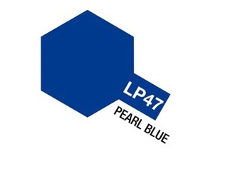 Tamiya Lacquer Paint 10ml : LP-47 Pearl Blue