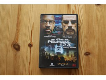 DVD Linje 123 kapad Denzel Washington John Travolta