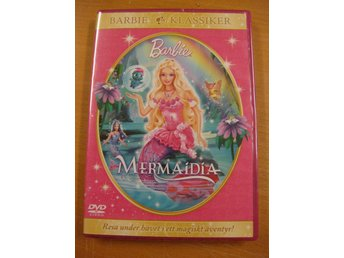 BARBIE MERMAIDIA - NY, INPLASTAD DVD