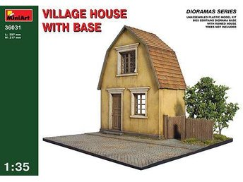 Miniart 1/35 Village House w/Base