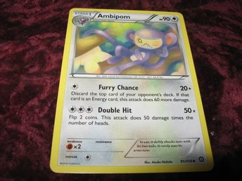 AMBIPOM HP90 91/114 (STEAM SIEGE)
