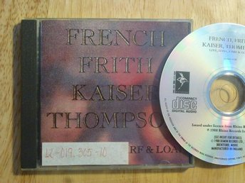 FRENCH FRITH KAISER THOMPSON - Live love larf loaf   Demon -88   Art rock