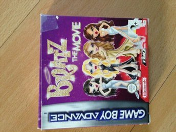 Gameboy advance SP - Bratz - the movie