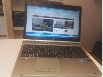 Proffsdator HP Elitebook 8560p Intel i5 2.60 GHz