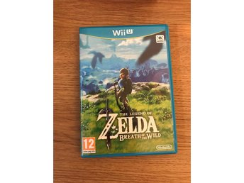 The Legend of Zelda Breath of the Wild till Wii U i nyskick