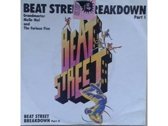 Grandmaster Melle Mel And The Furious Five title* Beat Street Breakdown* 80's Hi
