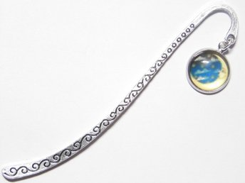 Måne bokmärke / Moon bookmark