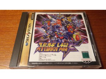 Super Robot Wars F - Komplett + Spine Card - Japanskt - Sega Saturn