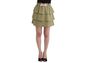 Cavalli - Green mini skirt