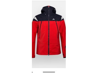J.LINDEBERG HARPER JACKET 3L GORE-TEX - Racing Red