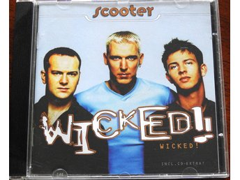 Scooter - Wicked CD (I'm raving,Awakening,When I Was a Young Boy)
