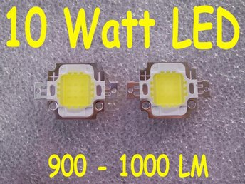 10 Watt LED 900-1000LM (2 st.)