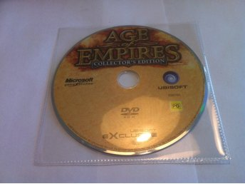 PC: Age of Empires: Collector's Edition (Enbart skivan!)